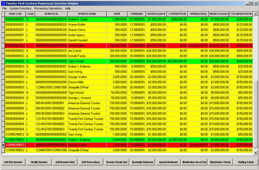 Hedge Fund Investor Software